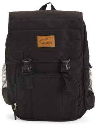 Avlanche Heather Top Flap Backpack