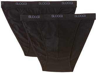 Sloggi for Men Men Basic tanga Brief without fly Mens brief 38 Inches