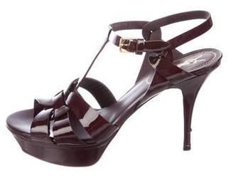 Saint Laurent Tribute 75 Platform Sandals