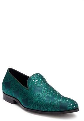 Steven Land Argyle Crystal Loafer