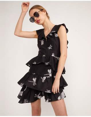 Cynthia Rowley Jetset Dragonfly Mini Dress