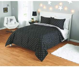 Your Zone Gold Hearts Comforter Set