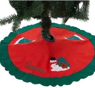 DAY Birger et Mikkelsen Monogramonline Inc. Personalized Tree Skirt