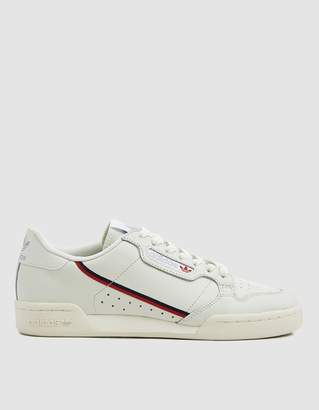 adidas Continental 80 Sneaker in Running White
