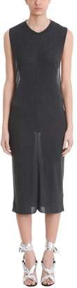 IRO Black Linen And Cotton Dress