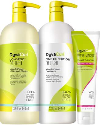 DevaCurl Bigger Better Basics for Wavy Hair Set