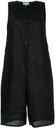 CK Calvin Klein buttoned linen jumpsuit