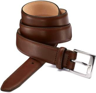 Charles Tyrwhitt Brown Leather Dress Belt Size 30-32