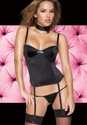 Coquette Sexy Bustier with Wire Cups & G-String