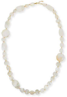 Viktoria Hayman Single-Strand Mother-of-Pearl Necklace