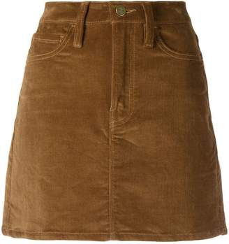 Frame corduroy mini skirt