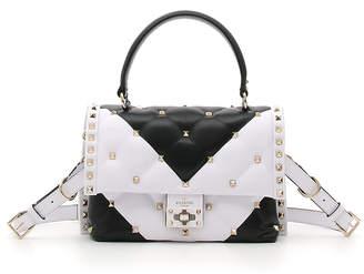 Valentino CandyStud Top-Handle Bag