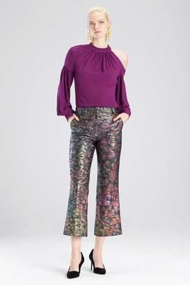 Josie Natori Bohemia Garden Jacquard Pants