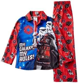 LTB SGI Apparel LEGO Star Wars Darth Vader My Rules Button Front Pajama Set (Little & Big Boys)