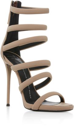 Giuseppe Zanotti Banded Heel Sandal $895 thestylecure.com