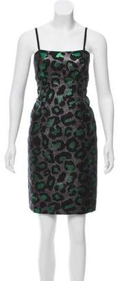 Marc by Marc Jacobs Brocade Mini Dress
