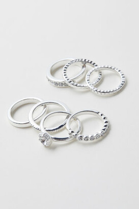 H&M 7-pack Rings - Silver
