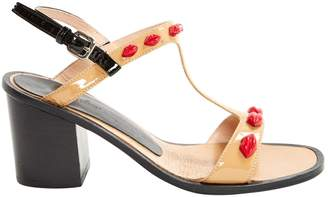 Markus Lupfer Patent leather sandal