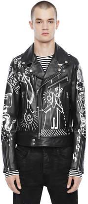 Diesel Black Gold Diesel Leather jackets BGPTK - Black - 44