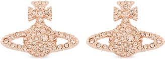 Vivienne Westwood Grace Bas Relief pavé orb stud earrings