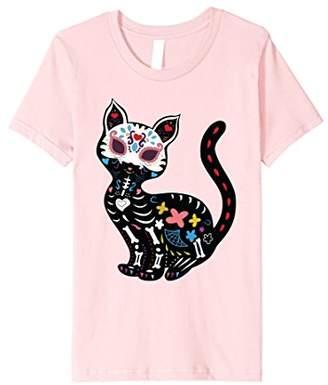 Cinco De Meow Cat Shirt Cute Colorful Black Cat T-Shirt