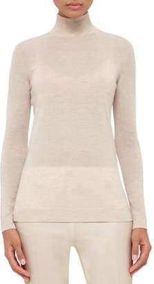 Akris Cashmere-Blend Turtleneck Sweater