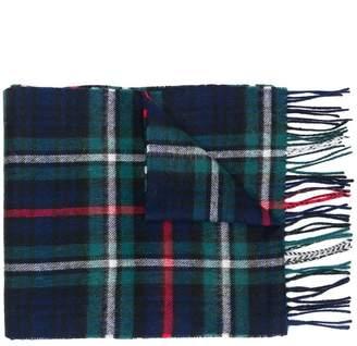 Barbour New Check MacKenzie tartan scarf