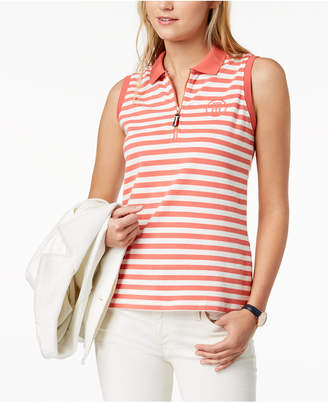 Tommy Hilfiger Sleeveless Polo Top