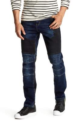 Request Stretch Quilted Contrast Jeans