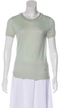 Tory Burch Knit Cashmere Top