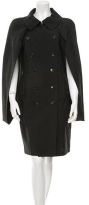 Junya Watanabe Double-Breasted Wool Coat w/ Tags $495 thestylecure.com