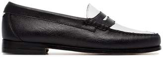 RE/DONE flat monochrome lizard loafers