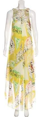 Leifsdottir Printed Silk Dress