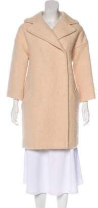Giambattista Valli Wool & Mohair Knee-Length Coat