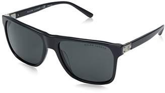 Ralph Lauren Men's 0RL8152 558487 Sunglasses, Dark Grey