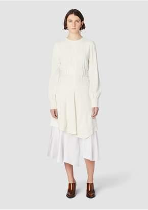 Derek Lam 10 Crosby Long Sleeve Belted Dress