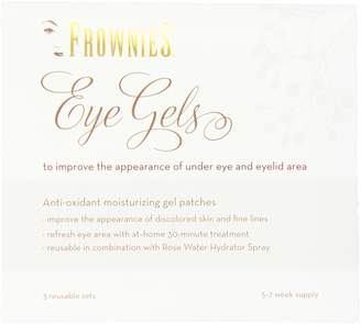 Frownies Eye Gels Under Eye and Eye Lid Collagen Patches, 3 Re-Useable Sets