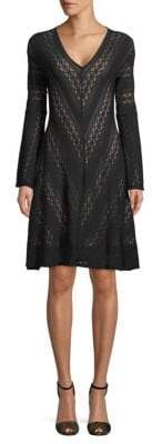 BCBGMAXAZRIA Lace Knee-Length Dress