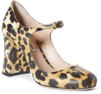 Miu Miu Rocchetto Mary Jane Pump