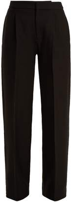 Le Grand Pantalon wide-leg wool trousers