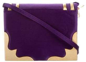 Paloma Picasso Satin Crossbody Bag