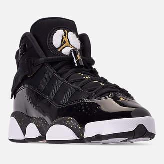 b33ac9cbbc3f4c Nike Big Kids  Jordan 6 Rings Basketball Shoes