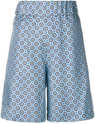 Alberto Biani printed shorts
