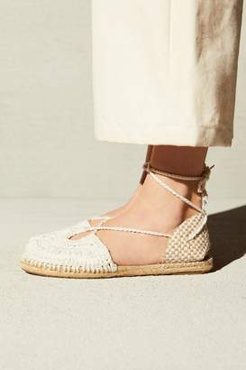 Free People Fp Collection Catalina Crochet Espadrille