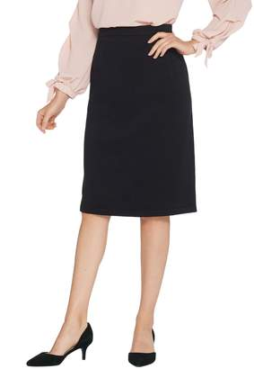 Joan Rivers Classics Collection Joan Rivers Wardrobe Builders Pull-On Sweater Knit Skirt