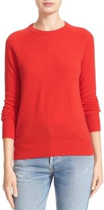 Women's Equipment 'Sloane' Crewneck Cashmere Sweater $268 thestylecure.com