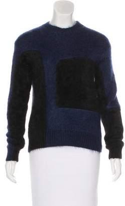 Celine Long Sleeve Angora-Blend Sweater