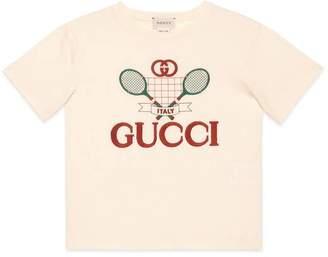 Gucci Children's T-shirt with Tennis