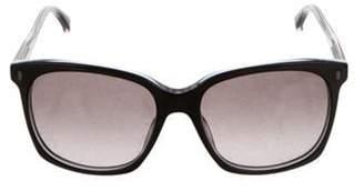 Giorgio Armani Tinted Square Sunglasses Black Tinted Square Sunglasses