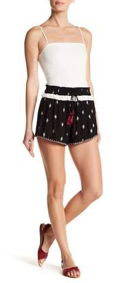 Poof Smocked Woven Shorts